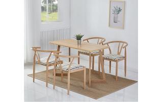 小吃店餐桌椅快餐店桌椅奶茶店桌椅咖啡店桌椅成都餐厅桌椅四人分体快餐桌椅ft4-152